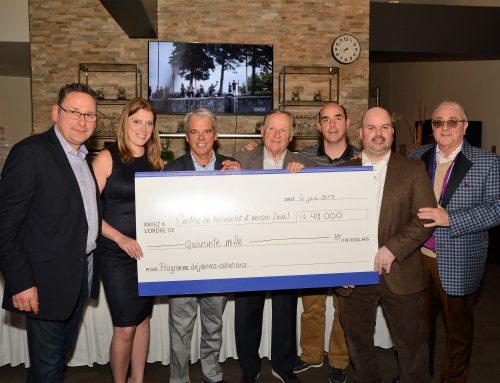 40 000$ amassés lors du tournoi de Golf annuel
