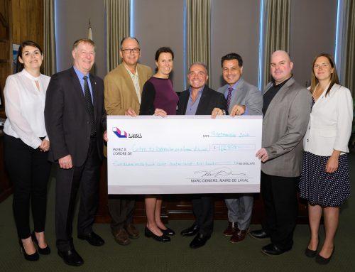 Le CBML reçoit une subvention provenant du Fonds Place-du-Souvenir