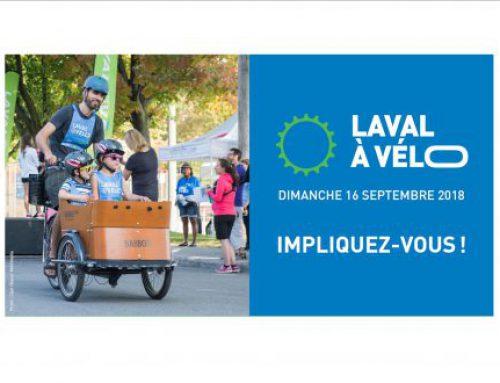 Laval à vélo