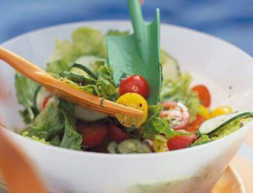 Salade verte d'été