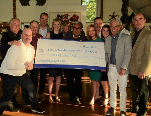 69 000$ amassés à la 19e édition du tournoi de golf bénéfice pour le programme de Déjeuners-Collations