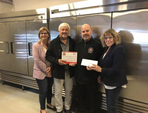 11 950$ remis au Centre de bénévolat et moisson Laval par la Boulangerie Canada Bread, Limitée