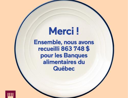 Campagne SAQ – Un don de 45 835$ est versé au Centre de bénévolat et moisson Laval